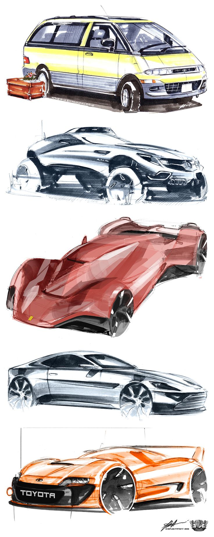 sketches pt.2 on Behance
