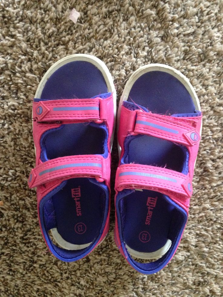 SmartFit Sandals A. Payless - $5.60 B. I let my daughter pick these out. C. These were a great price on clearance, love that they are sporty sandals good for playing/walking, these are perfect for wearing everyday to school before the weather gets cold!