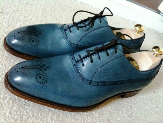 An Ode to Blue Dress Shoes – The Shoe Snob Blog