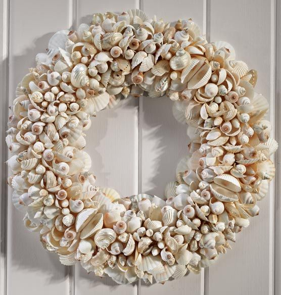 Another pretty use of beach shells