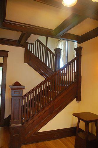 Best 25 Craftsman Staircase Ideas On Pinterest