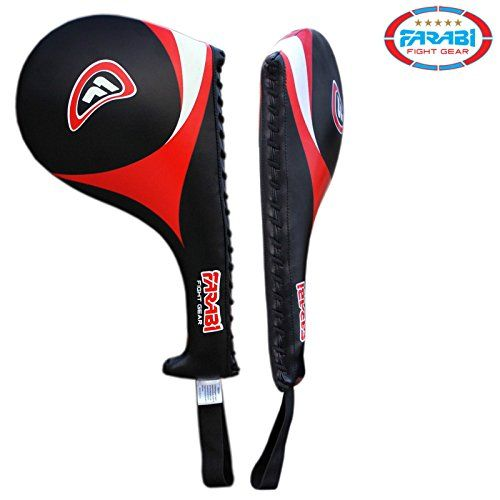 Farabi Taekwondo Racket Hand Karate Kick Boxing Strike Pad Martial Art X 1 UNIT