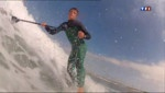 A la découverte du stand-up paddle - Le journal du Week-end - Replay - TF1 - Claire Chazal #SUP, #standuppaddle, #benoitcarpentier, #TF1, #Replay, #video, #journal, #reportage, #young, #grom, #championdumonde, #worldchampion, #france, #finistere, #latorche, #porscarn, #bigouden, #sportnautique