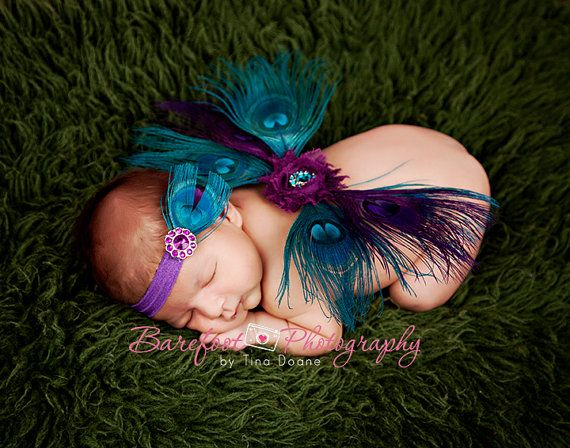 Baby Wings Peacock Wings: I think I could make these....just bigger....