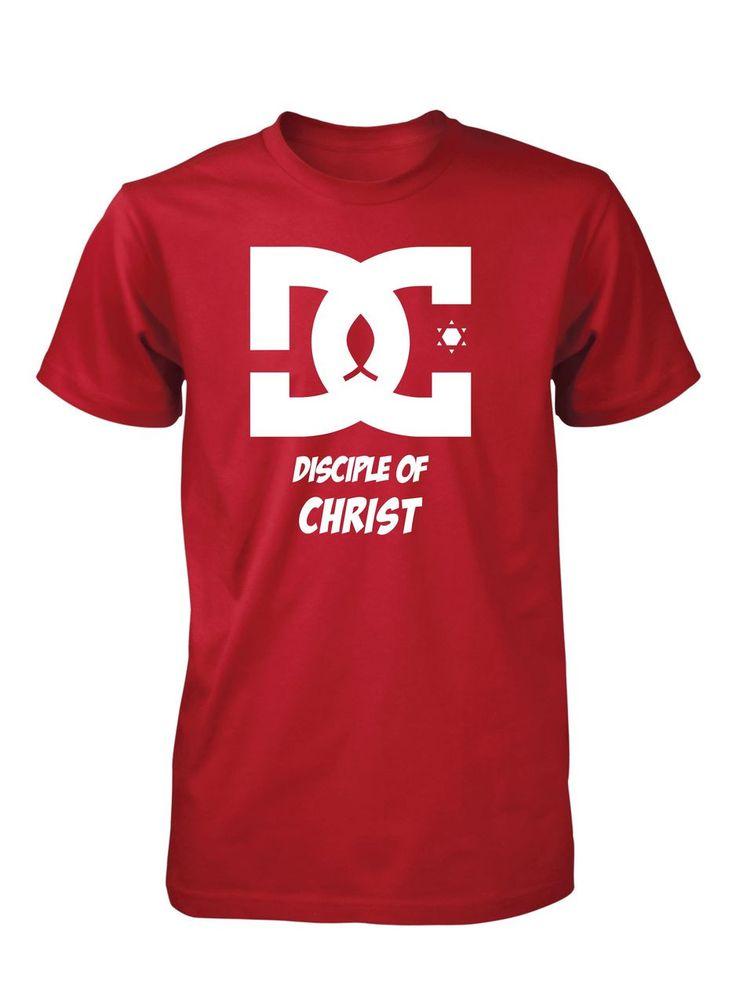 Disciple of Christ DC Jesus Hero Christian T-Shirt for Men