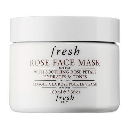 Sensitive skin can benefit from the gentle ingredients found in the Fresh Rose Face Mask. #skincare #facemasks