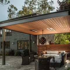 contemporary patio by KDL Architects