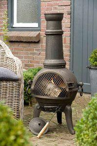 Een exclusieve, hoogwaardige patio kachel en ook een mooi element voor uw tuin. De absolute blikvanger.