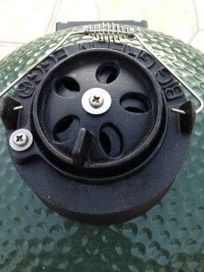 Tips on controlling the temp of the BGE