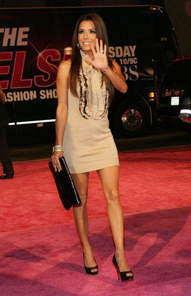 Eva Longoria Photos: Victoria's Secret Fashion Show - Arrivals
