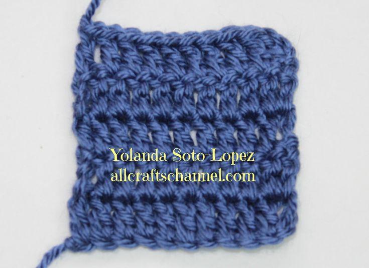 572 best crochet joining methods images on pinterest crochet how to crochet straight edges rows yolanda soto lopez ccuart Images