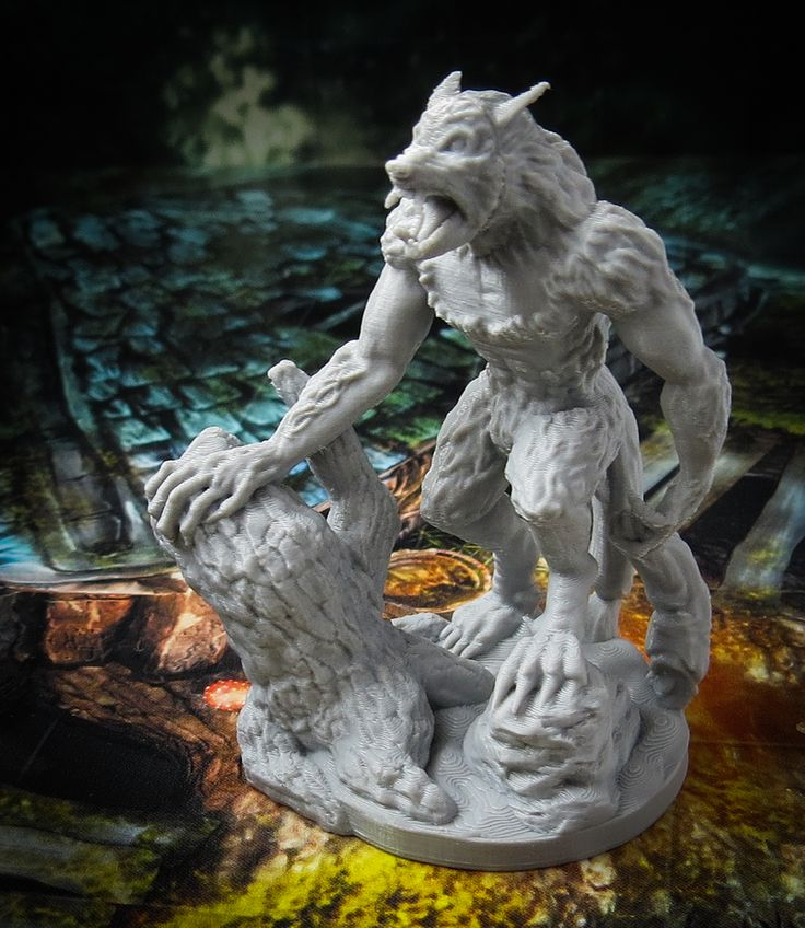 Black Scrolls Games is creating 3D printable RPG miniatures, props and dioramas | Patreon