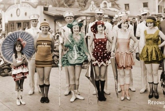 1920s bathing suits.