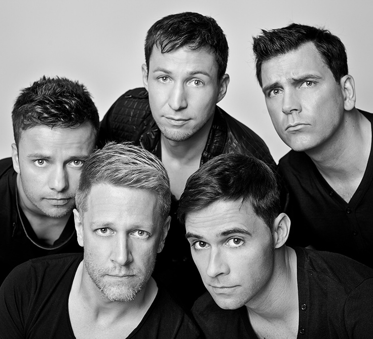 """Fotoshooting im Mai 2012 mit """"Back For Good - The Ultimate Take That Tribute"""" #Band #TakeThat #Musik"""
