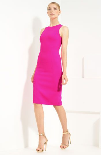 love the color, love the dress - Michael Kors