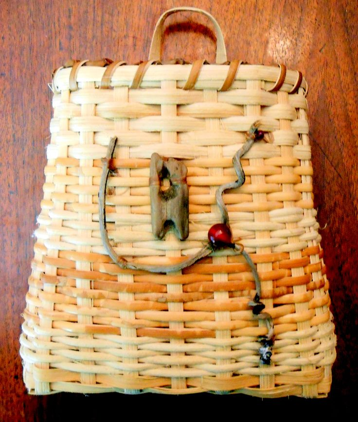 SOLD Small wall basket