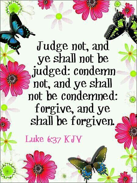 Luke 6:37 KJV