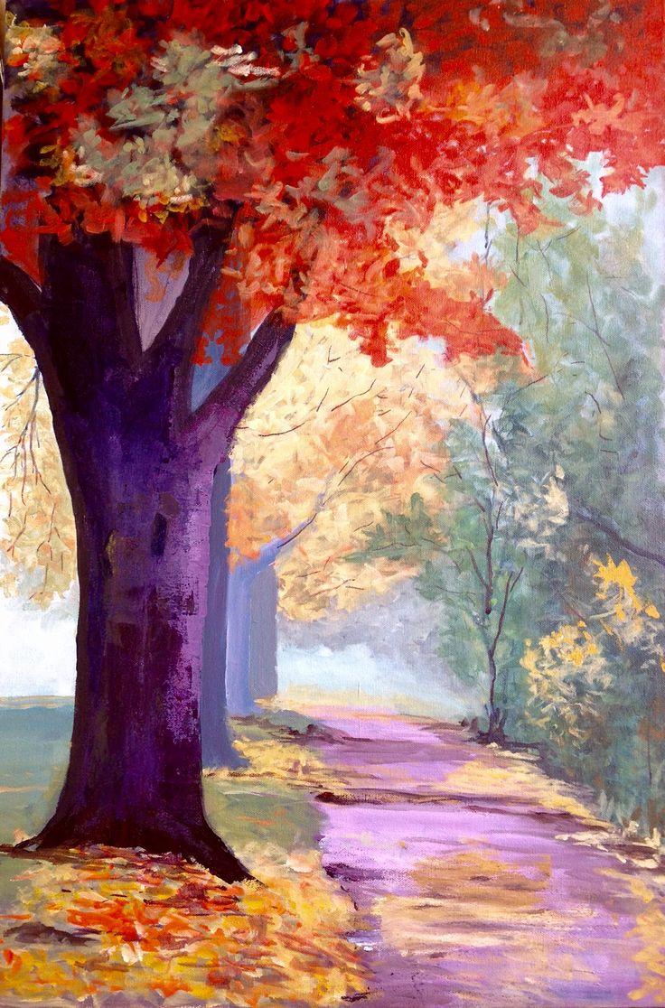 12 best Paintings I like images on Pinterest | Colourful art ...