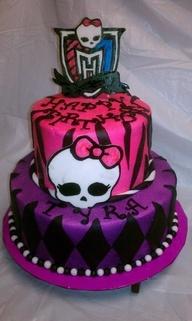 monster high cake ideas - Google Search