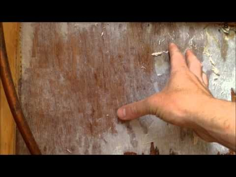 Quick RV Repair on a Rotted Wall - YouTube