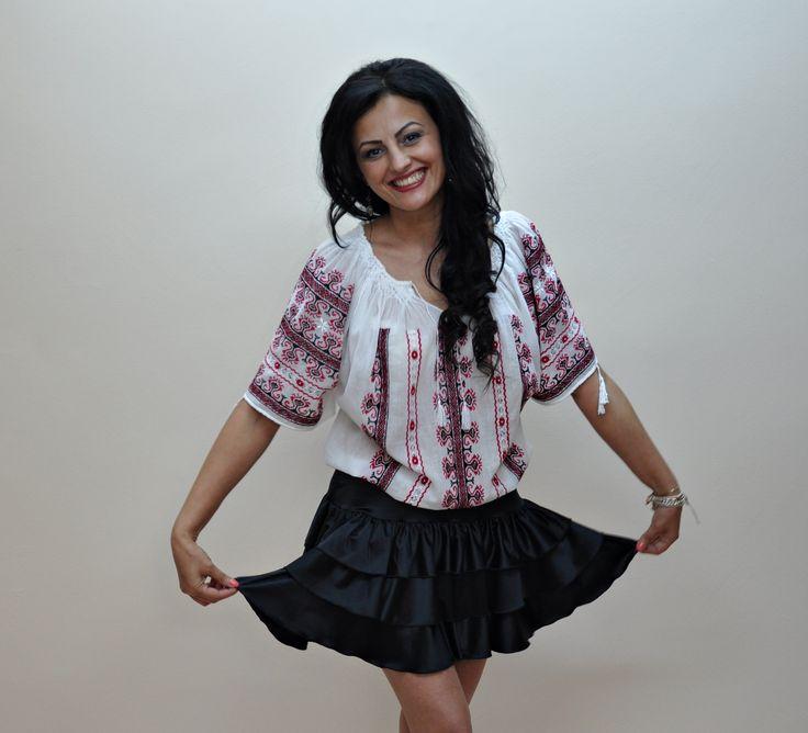 Romanian folk blouse