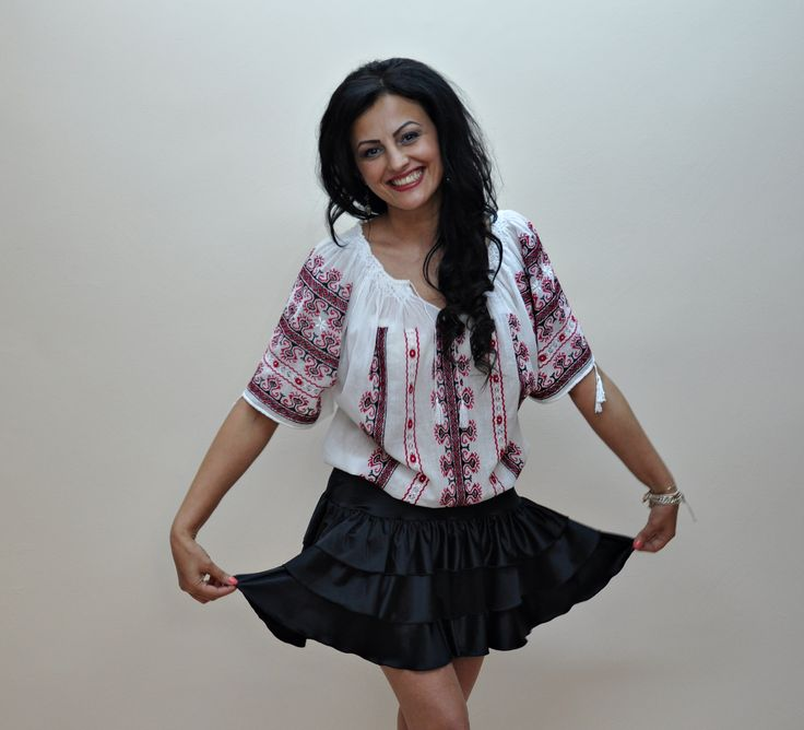 Romanian folk blouse