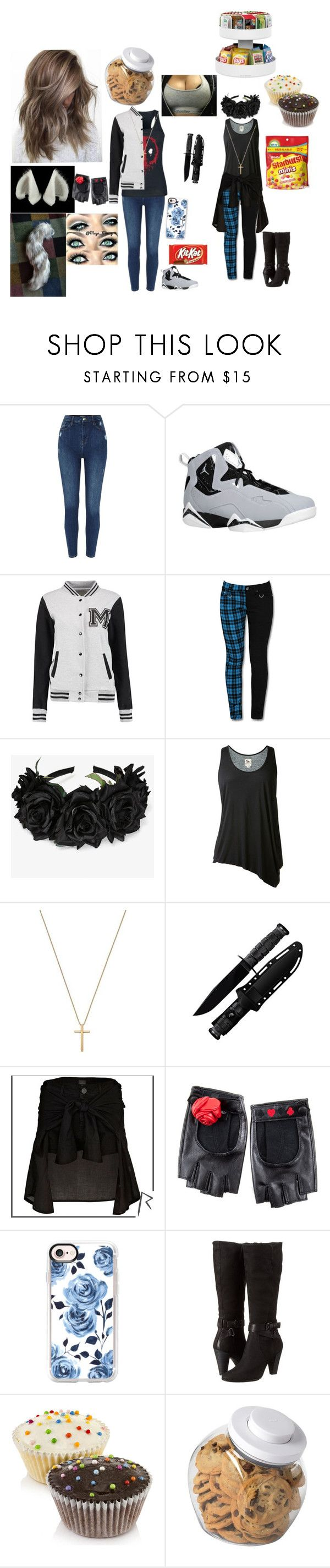 """""""Nette Camping With Aphmau"""" by rhiannabliss on Polyvore featuring interior, interiors, interior design, home, home decor, interior decorating, Maison Kitsuné, L'Agence, Gucci and Cold Steel"""