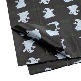 Halloween Wipe Clean Tablecloth Boo Design #poundlandhalloween