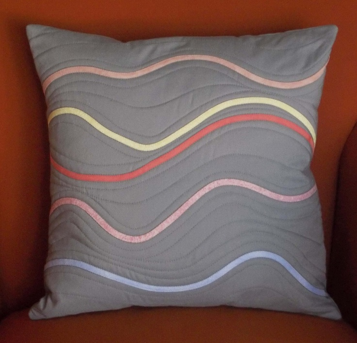 Esch House Quilts: Summer Sunrise: Sunrise Pillow, Sunrises, Applies Pillows, Favorite Pillows, House Quilts, Photo, Aa Quilted Pillows