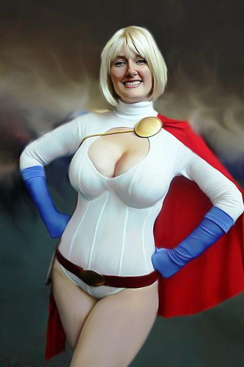 Cosplay Power Girl By Joen@f