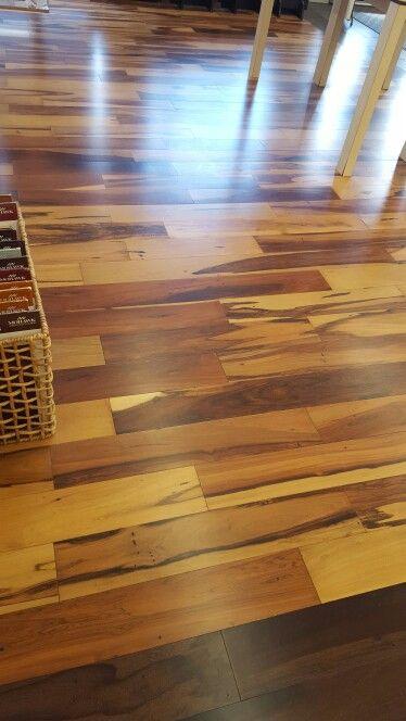 Mahogany engineered flooring