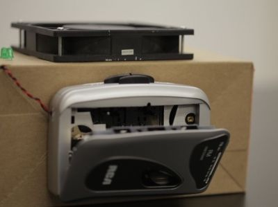 DIY Walkman Turntable