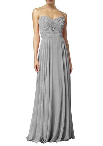 FREYA Dress - Silver Grey