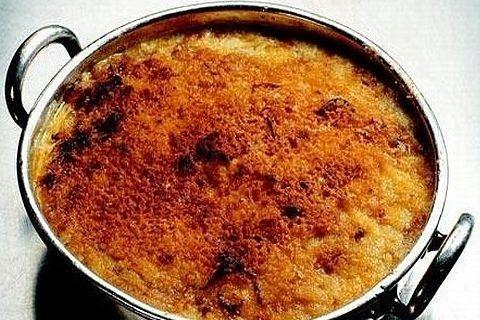 Tarkuotų cukinijų ir bulvių apkepas
