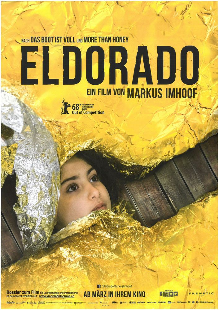 ELDORADO 2018 - ORIG. FILMPOSTER A4 CINEMA AD