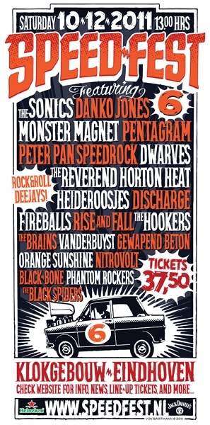 Concert Poster Monster Magnet Modulated Tones Pinterest