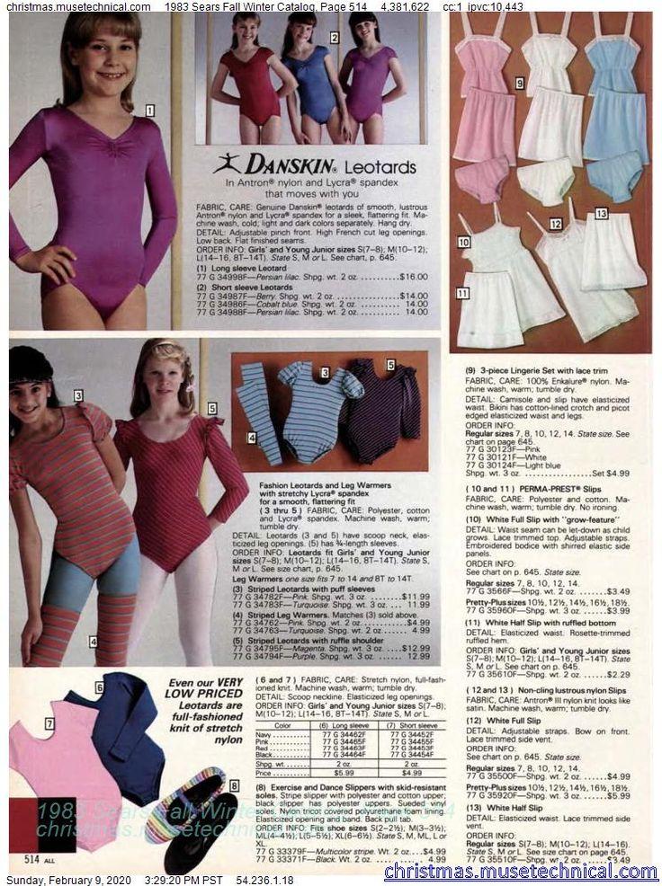 1983 Sears Fall Winter Catalog, Page 514 Christmas