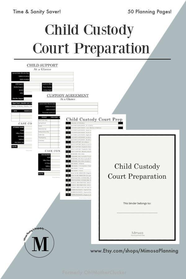 Child Custody Court Preparation Child Support Ideas Of Child