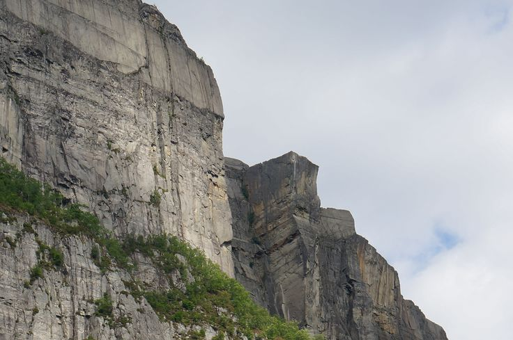 Pulpit Rock, a 25 m x 25 m which protrudes out from the edge of the cliff. Beautiful phenomenon!