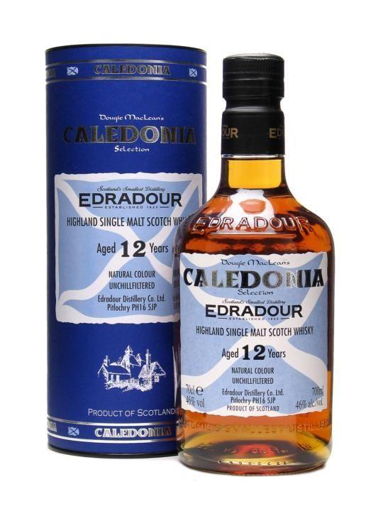 Edradour 12 Year Old / Caledonia Selection / Oloroso Cask