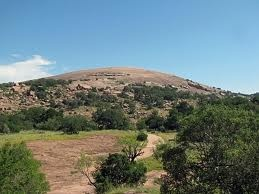 Enchanted Rock, TX it was amazing climbing that with my family