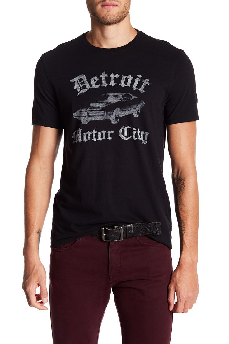 Detroit Motor City Graphic Tee