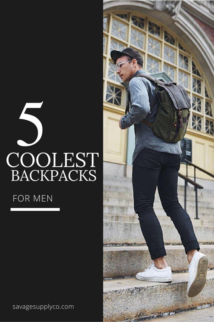 Coolest backpacks for men