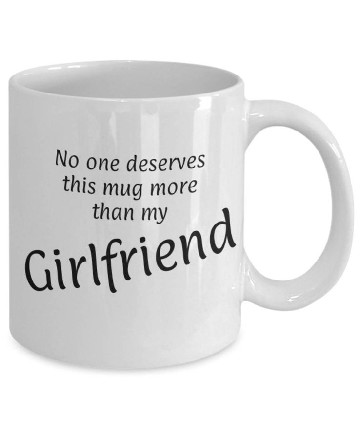 Sweetheart, Partner, No one deserves this more than my Girlfriend, Funny mug, Christmas gift Girlfriend, Appreciation mug, Gift for her by expodesigns on Etsy