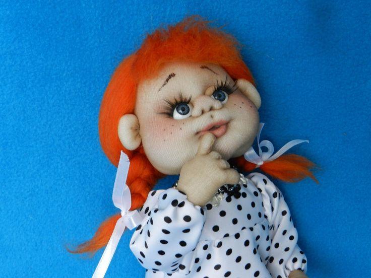 Интерьерная кукла в смешанной технике «Моя Муза».Юлия Лазарева.foreven.ru