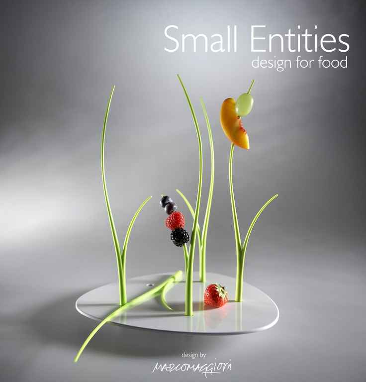 Small Entities, design for food