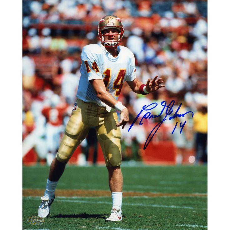 "Brad Johnson Florida State Seminoles Fanatics Authentic Autographed 8"" x 10"" Photograph - $29.99"