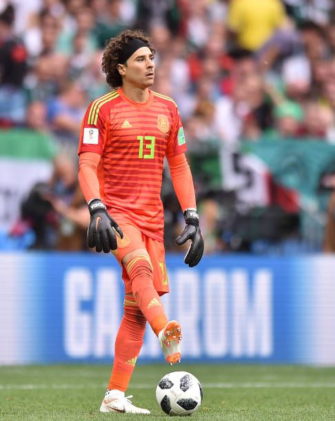 Guillermo Ochoa of Mexico in action during the 2018 FIFA World Cup Russia  group F match between Germany and Mexico at Luzhniki Stadium on June 17. 8743ff984