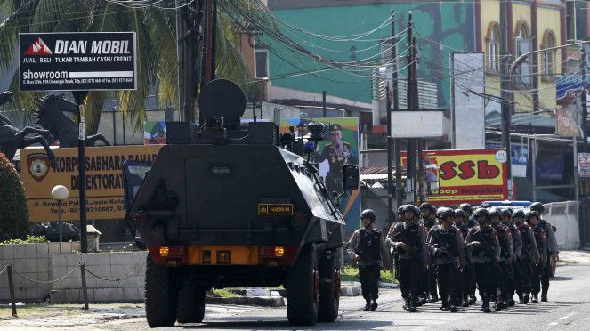 Kerusuhan Mako Brimob Napi Teroris Sandera Empat Polisi Lima Polisi Dan Satu Tahanan Tewas Polisi Lima Pertahanan