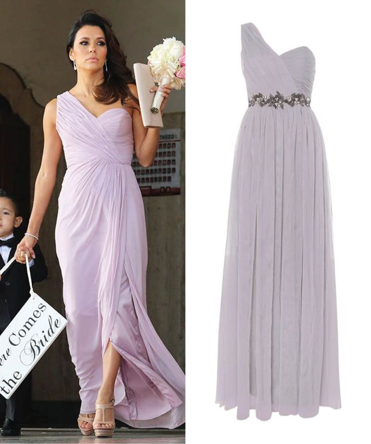 Eva Longoria as bridesmaid and Little Mistress dress #celebrity #bridesmaid